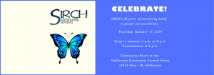 Celebrate SIRCH's 30th Anniversary on October 17, 2019